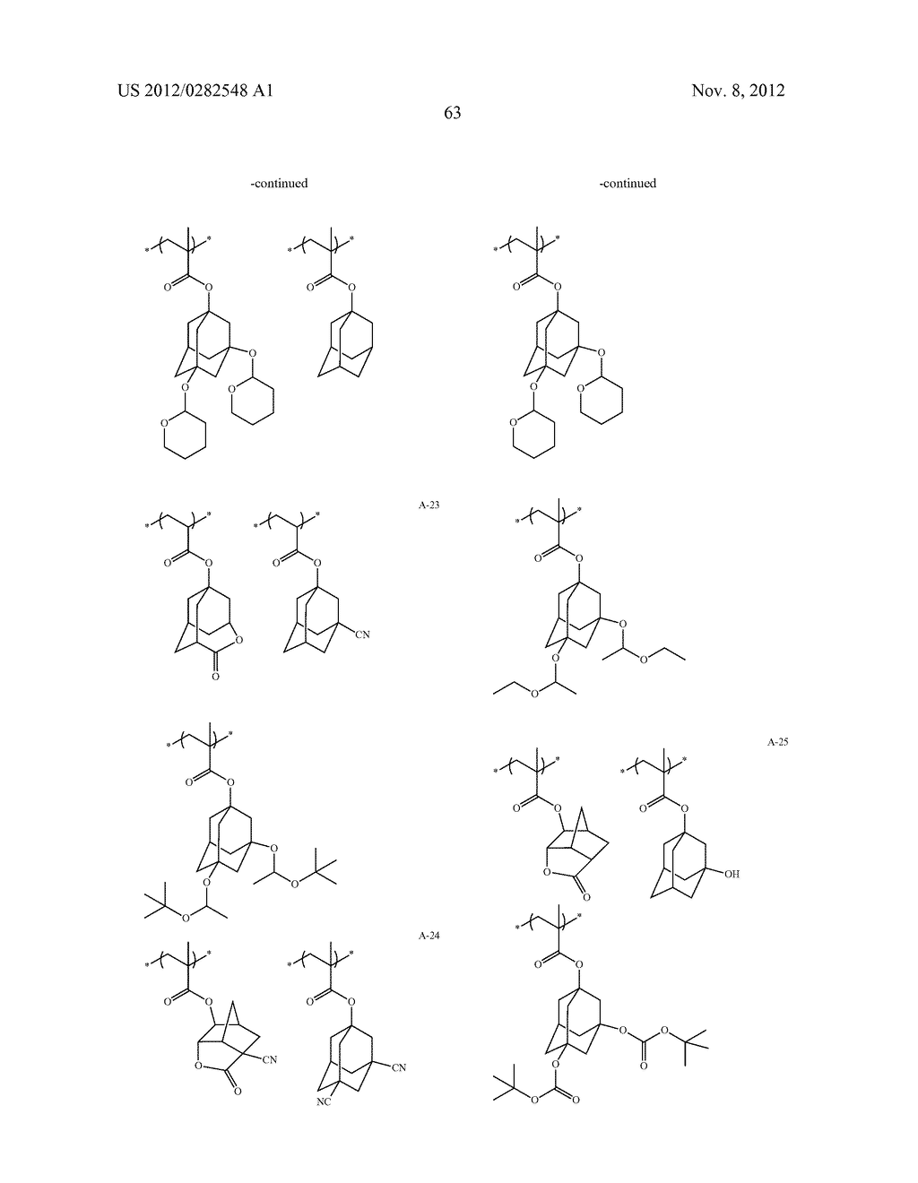 PATTERN FORMING METHOD, ACTINIC RAY-SENSITIVE OR RADIATION-SENSITIVE RESIN     COMPOSITION AND RESIST FILM - diagram, schematic, and image 64