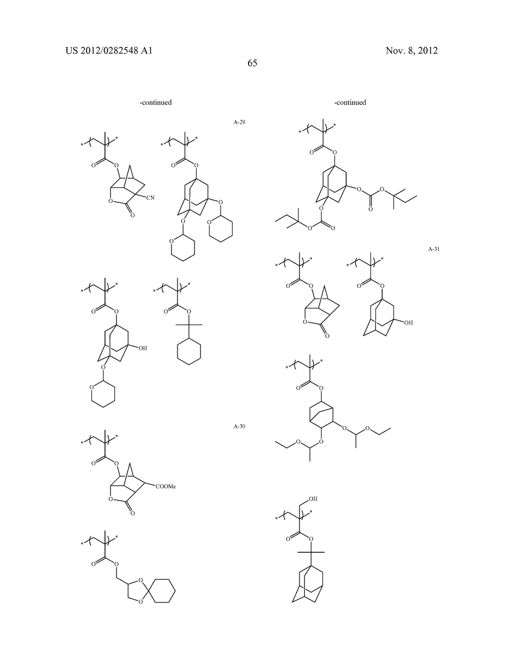 PATTERN FORMING METHOD, ACTINIC RAY-SENSITIVE OR RADIATION-SENSITIVE RESIN     COMPOSITION AND RESIST FILM - diagram, schematic, and image 66