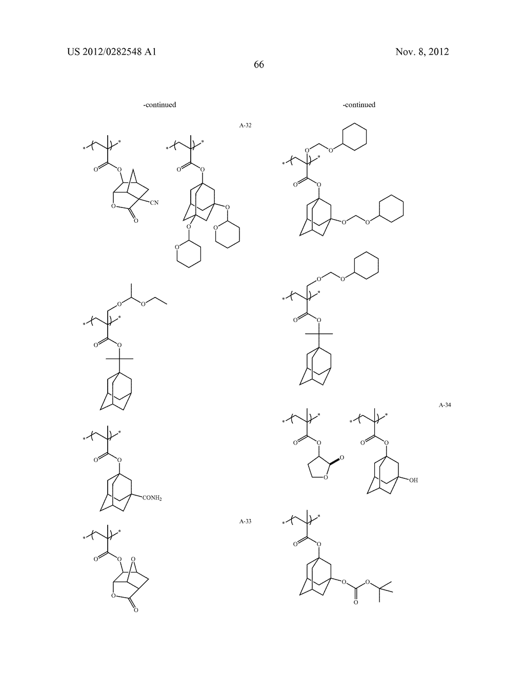 PATTERN FORMING METHOD, ACTINIC RAY-SENSITIVE OR RADIATION-SENSITIVE RESIN     COMPOSITION AND RESIST FILM - diagram, schematic, and image 67