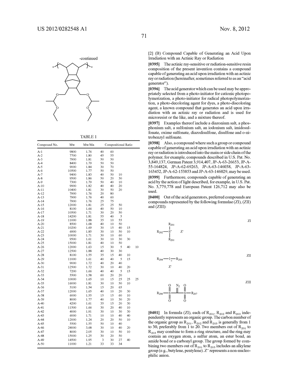PATTERN FORMING METHOD, ACTINIC RAY-SENSITIVE OR RADIATION-SENSITIVE RESIN     COMPOSITION AND RESIST FILM - diagram, schematic, and image 72