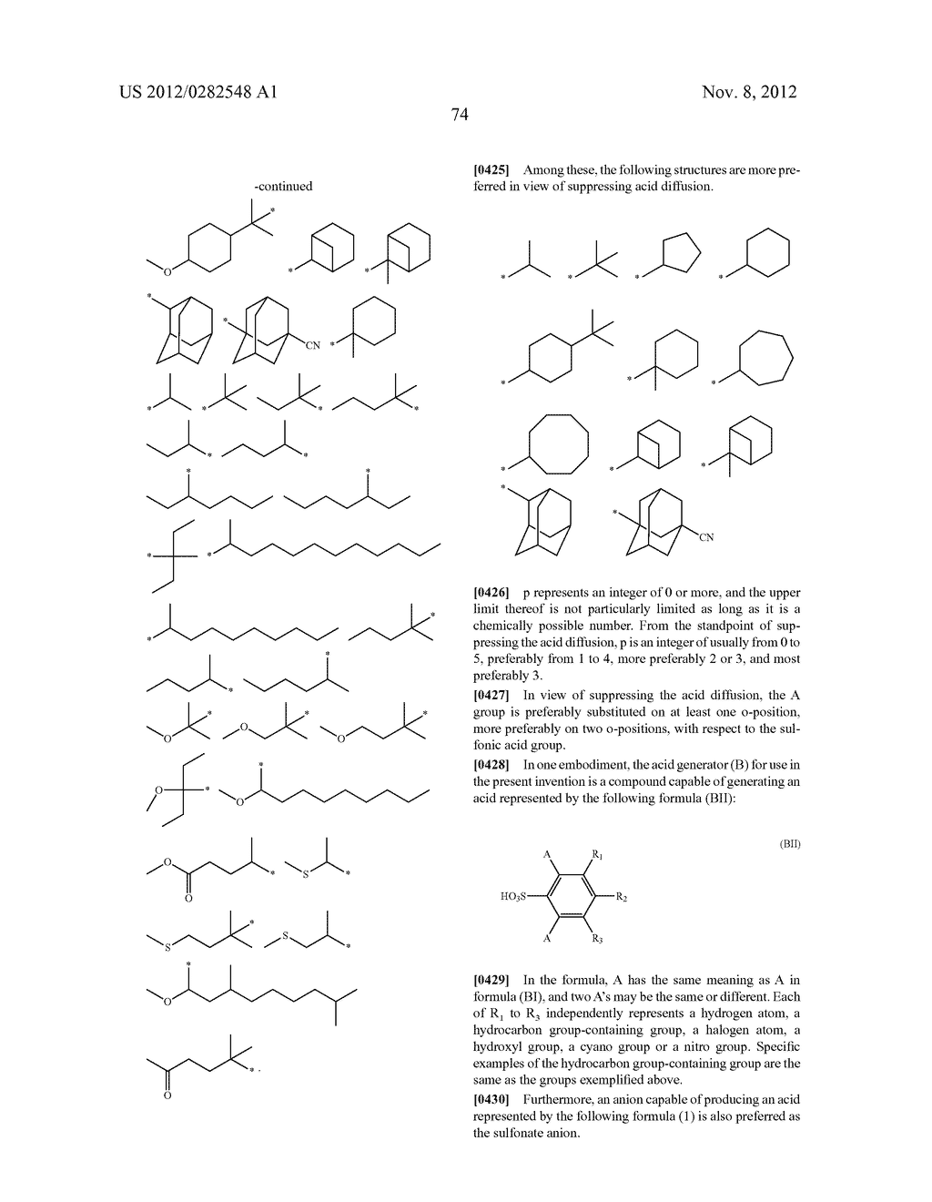PATTERN FORMING METHOD, ACTINIC RAY-SENSITIVE OR RADIATION-SENSITIVE RESIN     COMPOSITION AND RESIST FILM - diagram, schematic, and image 75