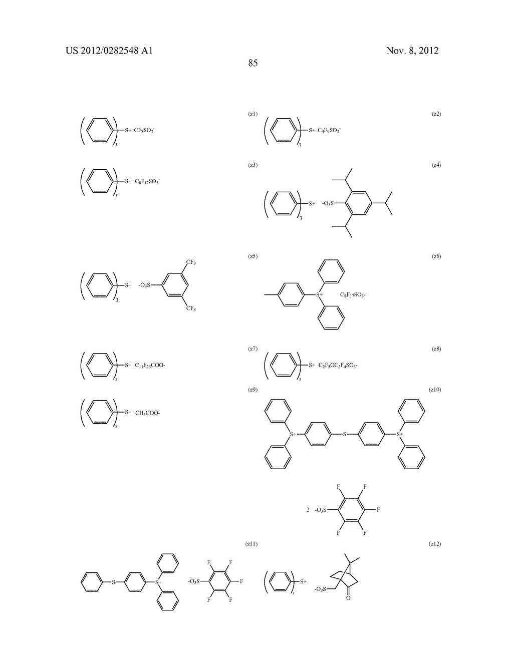 PATTERN FORMING METHOD, ACTINIC RAY-SENSITIVE OR RADIATION-SENSITIVE RESIN     COMPOSITION AND RESIST FILM - diagram, schematic, and image 86