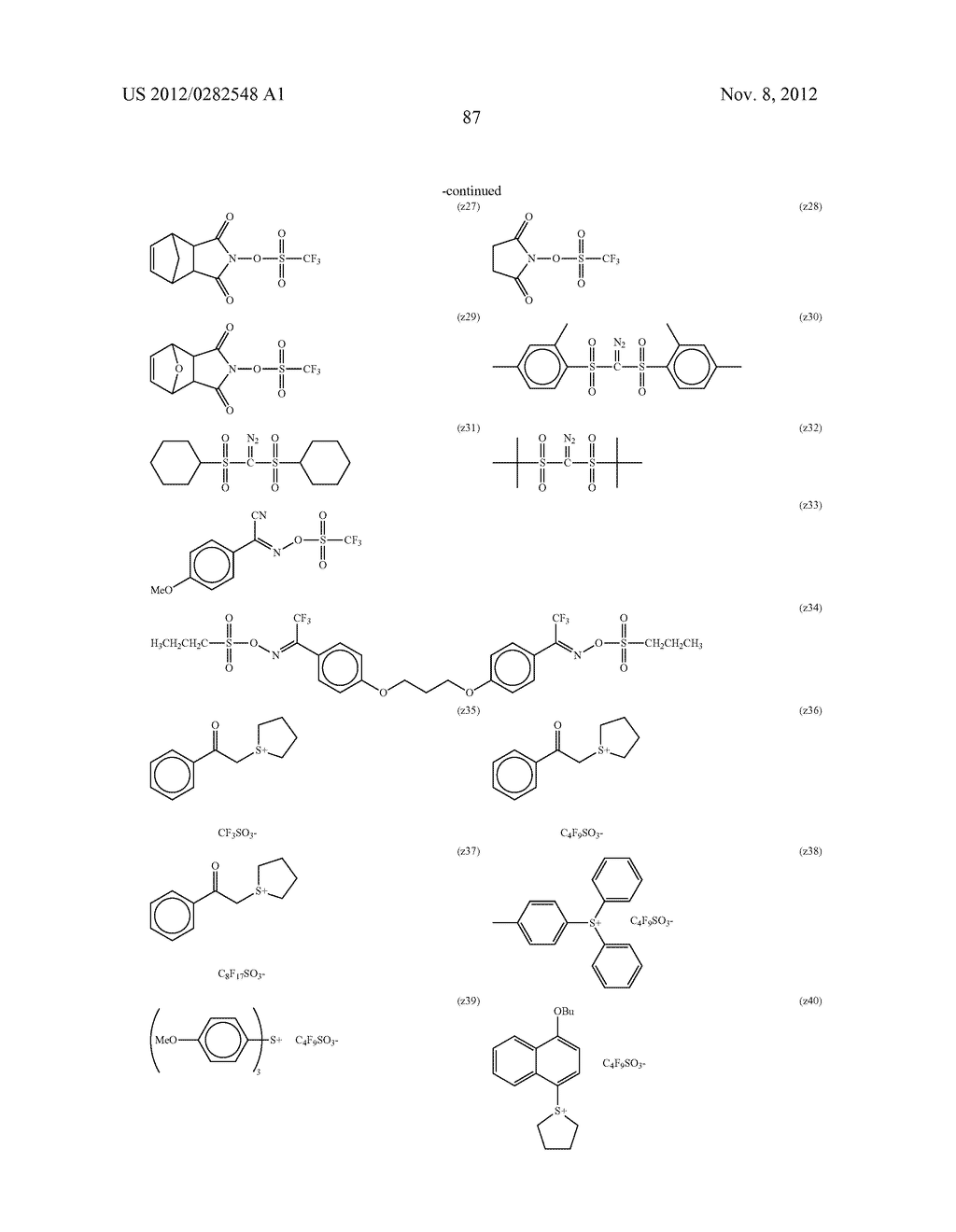 PATTERN FORMING METHOD, ACTINIC RAY-SENSITIVE OR RADIATION-SENSITIVE RESIN     COMPOSITION AND RESIST FILM - diagram, schematic, and image 88