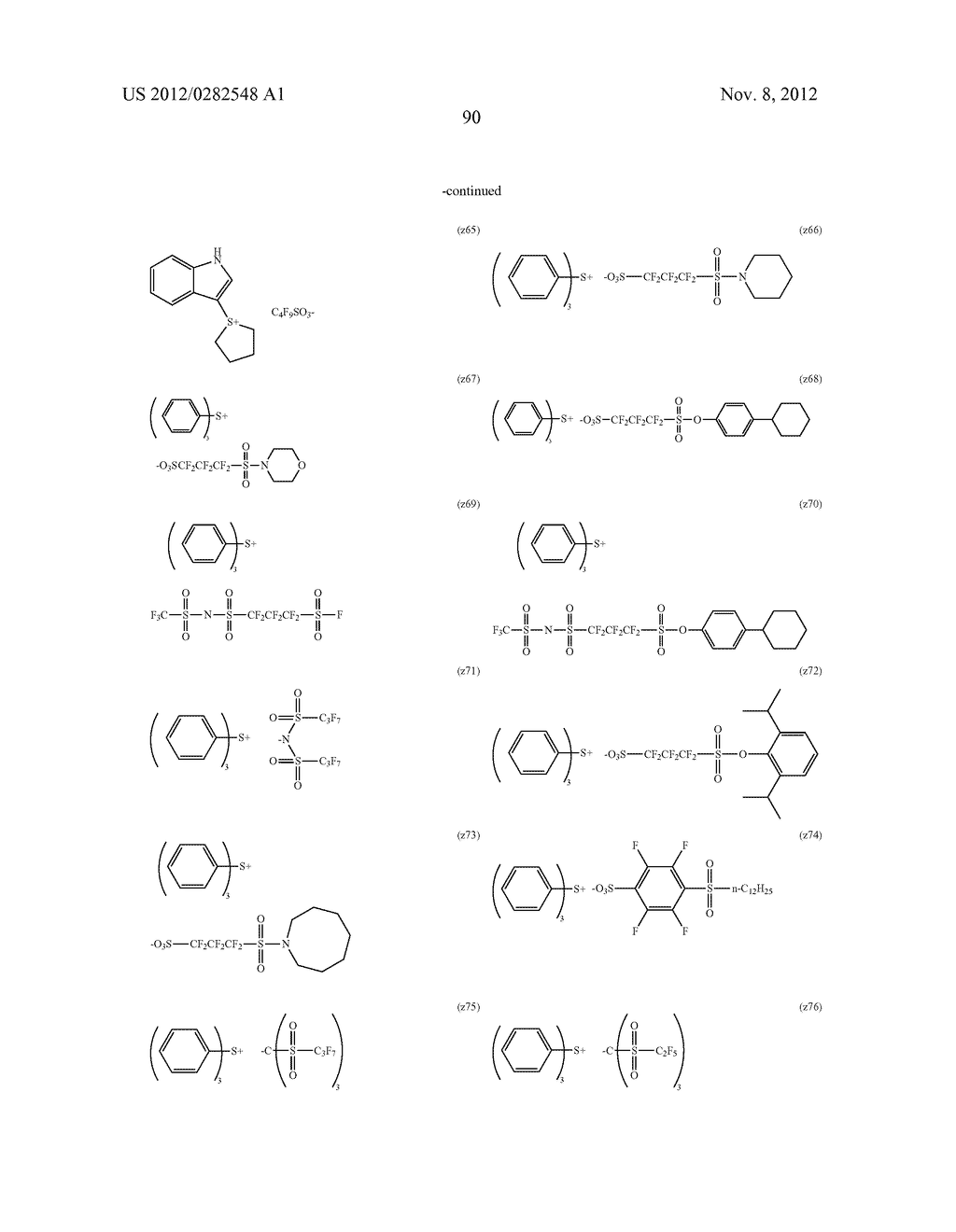 PATTERN FORMING METHOD, ACTINIC RAY-SENSITIVE OR RADIATION-SENSITIVE RESIN     COMPOSITION AND RESIST FILM - diagram, schematic, and image 91
