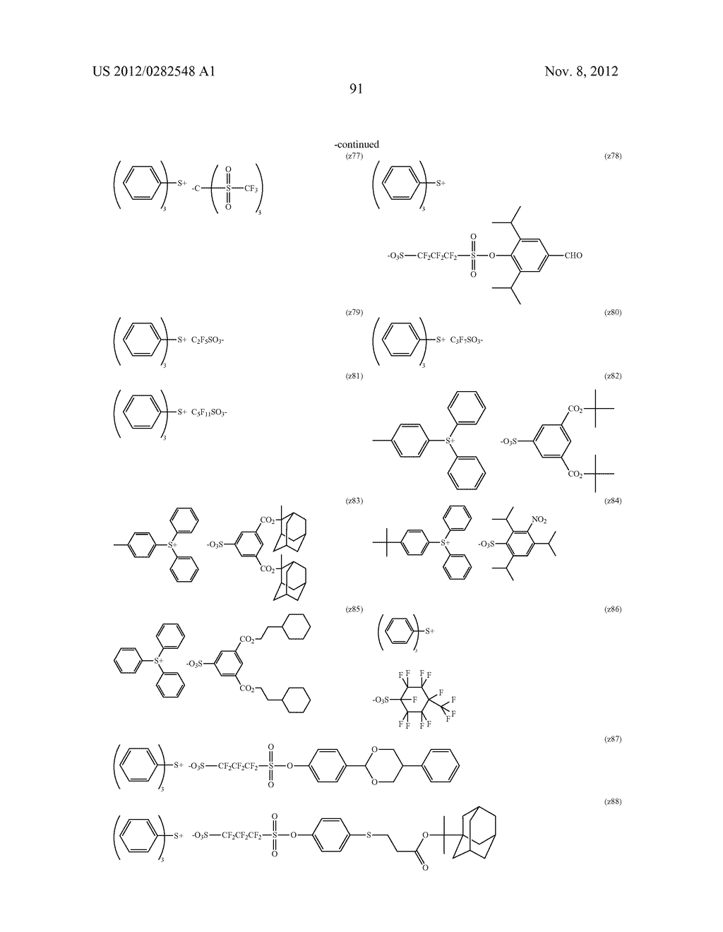 PATTERN FORMING METHOD, ACTINIC RAY-SENSITIVE OR RADIATION-SENSITIVE RESIN     COMPOSITION AND RESIST FILM - diagram, schematic, and image 92