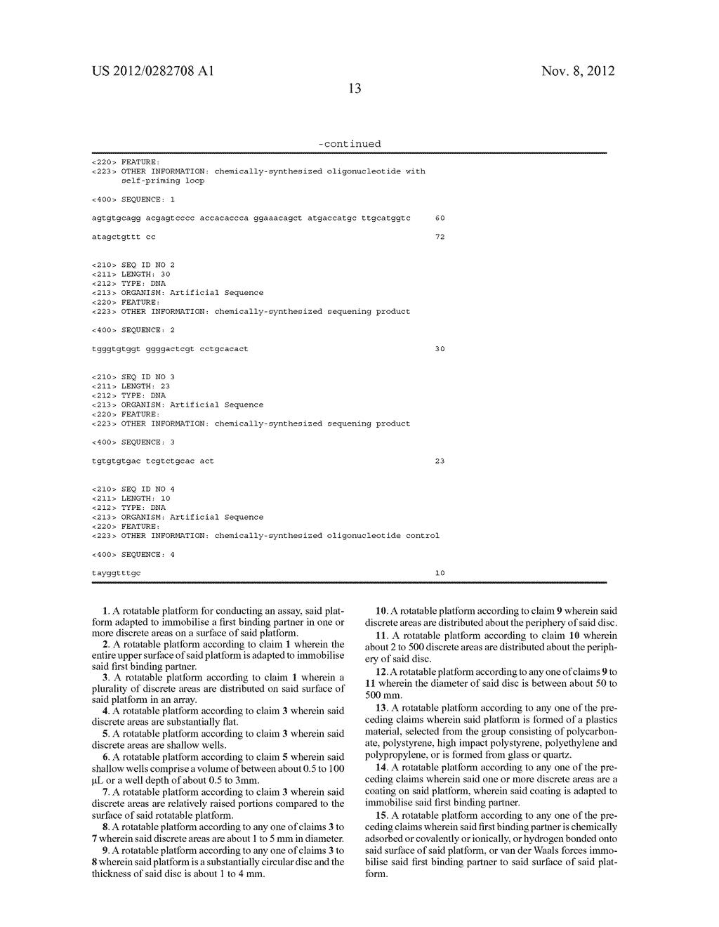 Method and Apparatus for Conducting an Assay - diagram, schematic, and image 28