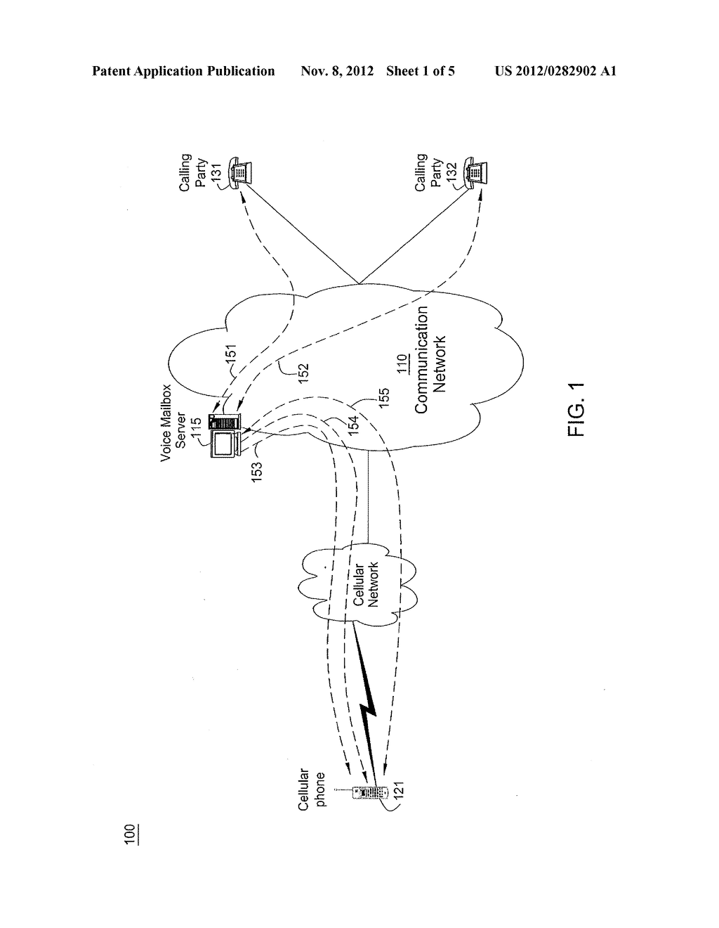 METHOD AND APPARATUS FOR RANDOM ACCESS OF VOICE MAIL MESSAGES - diagram, schematic, and image 02