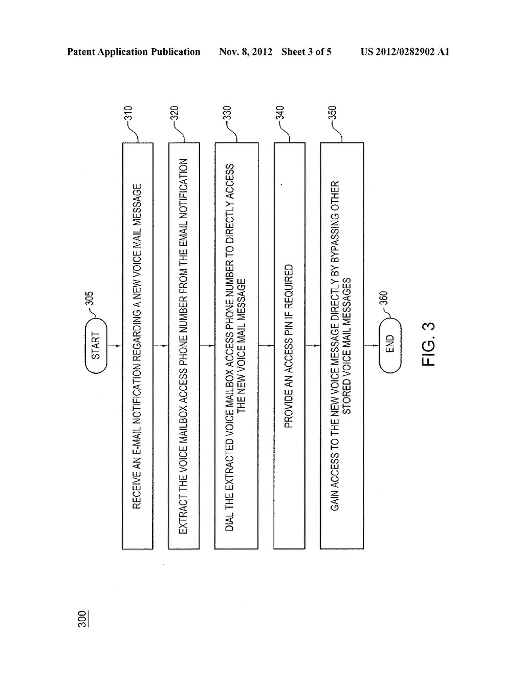 METHOD AND APPARATUS FOR RANDOM ACCESS OF VOICE MAIL MESSAGES - diagram, schematic, and image 04