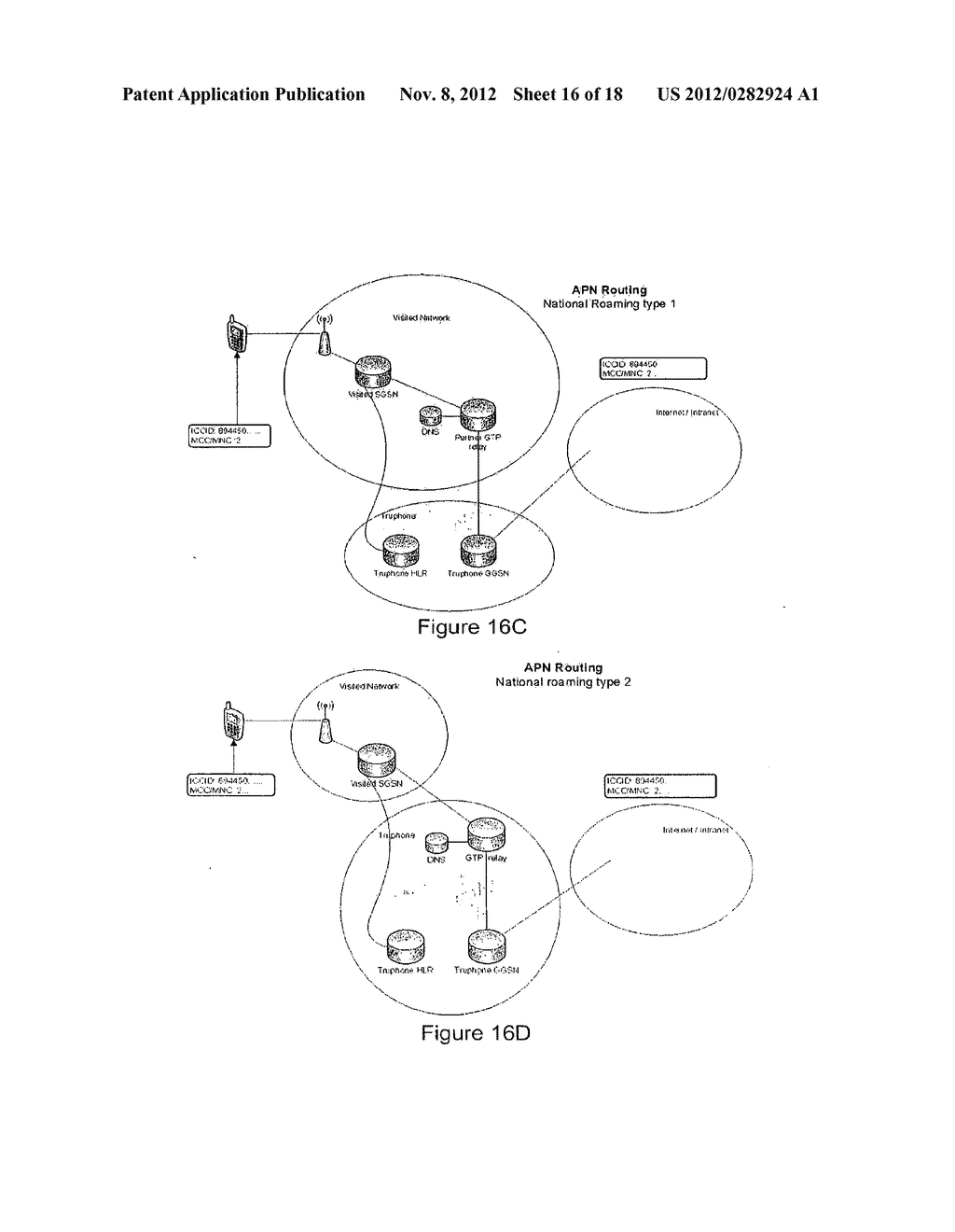 Subscriber Identification Management Broker for Fixed/Mobile Networks - diagram, schematic, and image 17