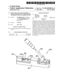INSERT FOR A TOOL FOR ASSEMBLING A BONE ANCHORING DEVICE AND TOOL FOR     ASSEMBLING A BONE ANCHORING DEVICE diagram and image