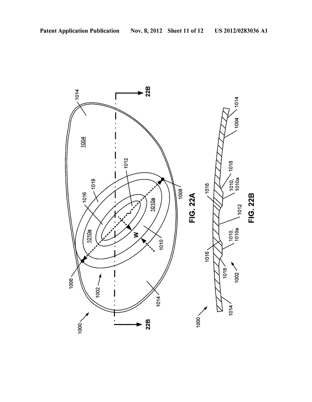 Golf Club Head or Other Ball Striking Device Having Stiffened Face Portion - diagram, schematic, and image 12
