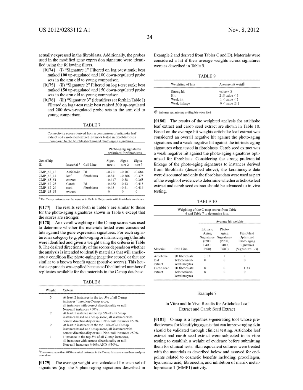 Systems and Methods for Identifying Cosmetic Agents for Skin Care     Compositions - diagram, schematic, and image 34