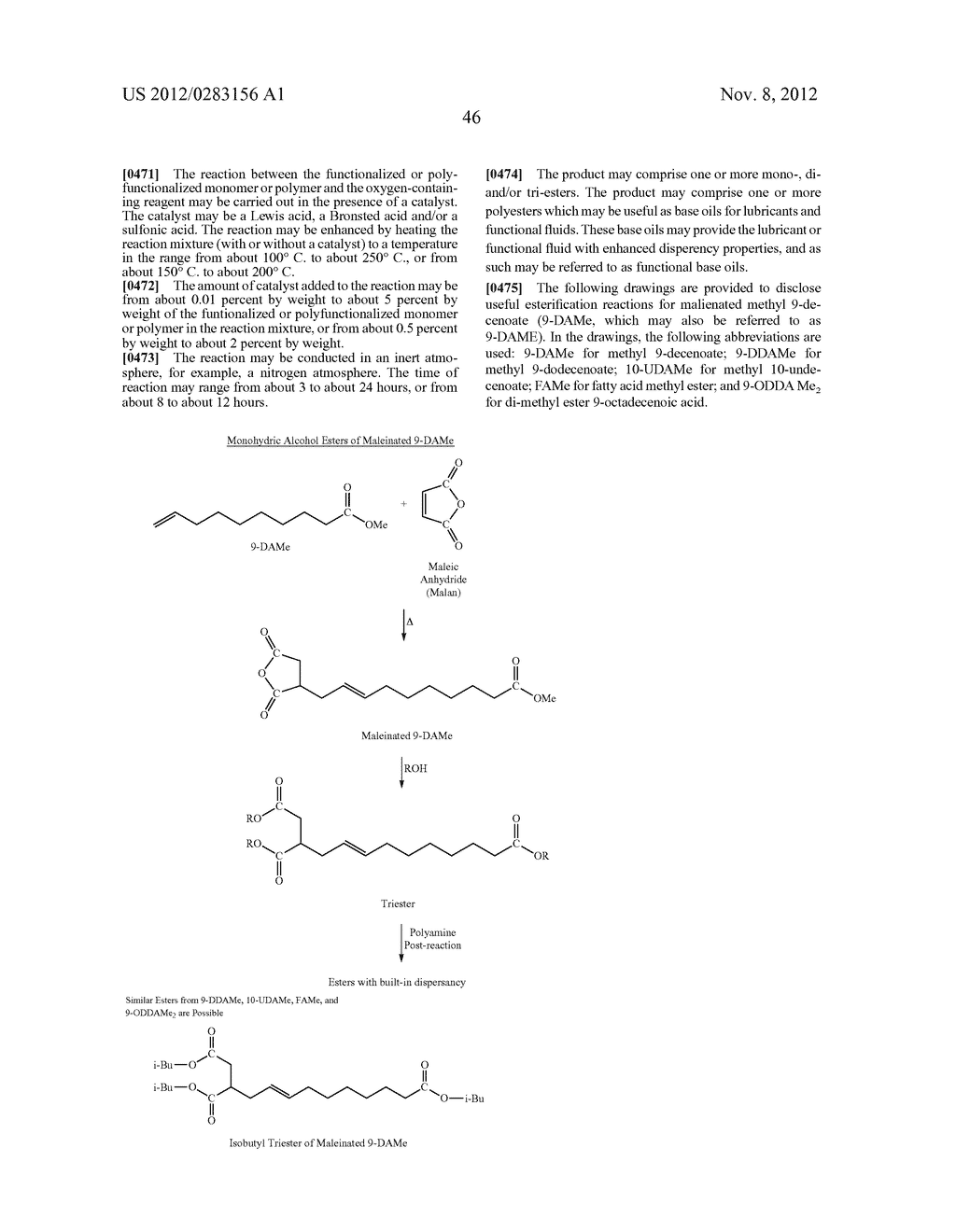 FUNCTIONALIZED MONOMERS - diagram, schematic, and image 49