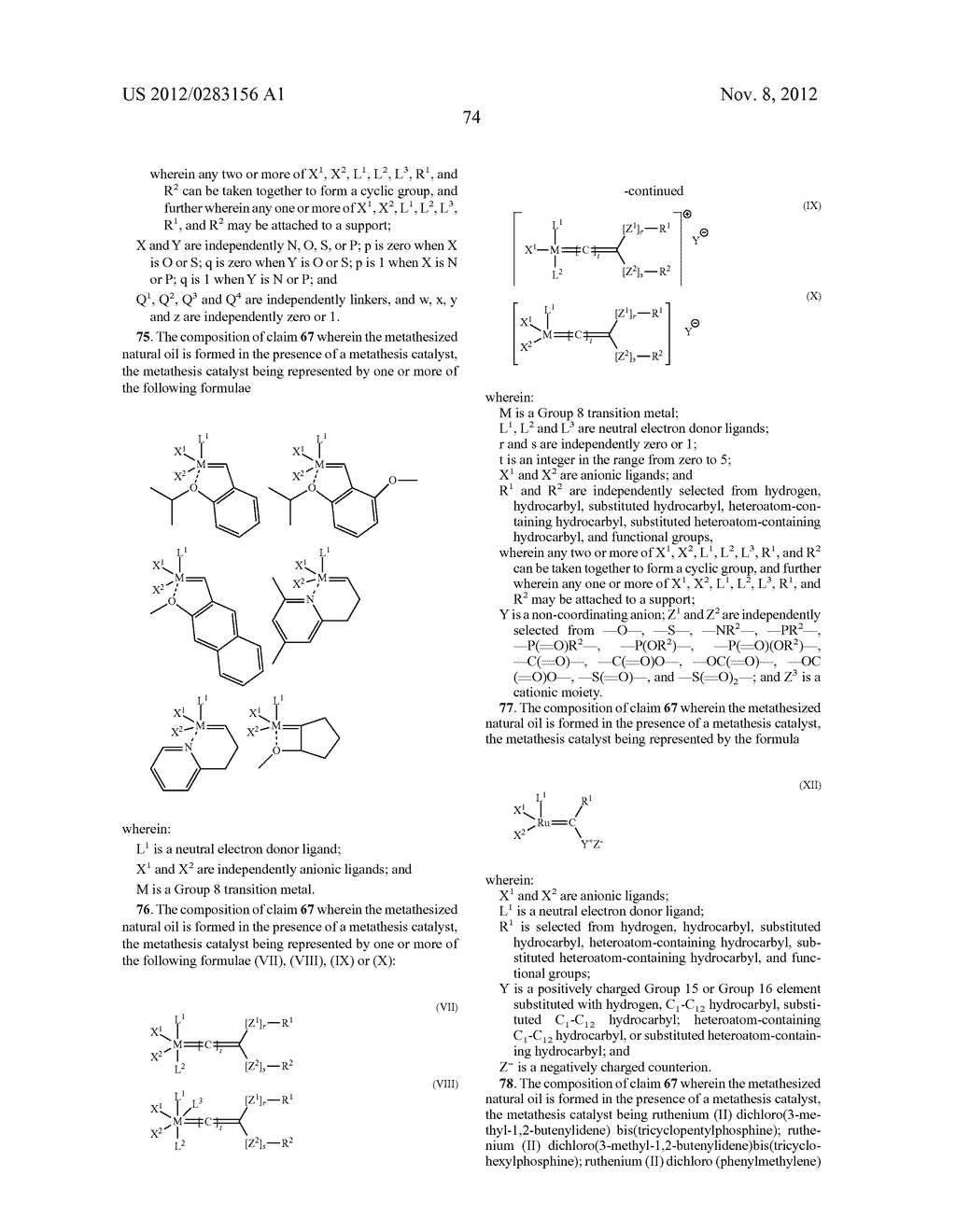 FUNCTIONALIZED MONOMERS - diagram, schematic, and image 77