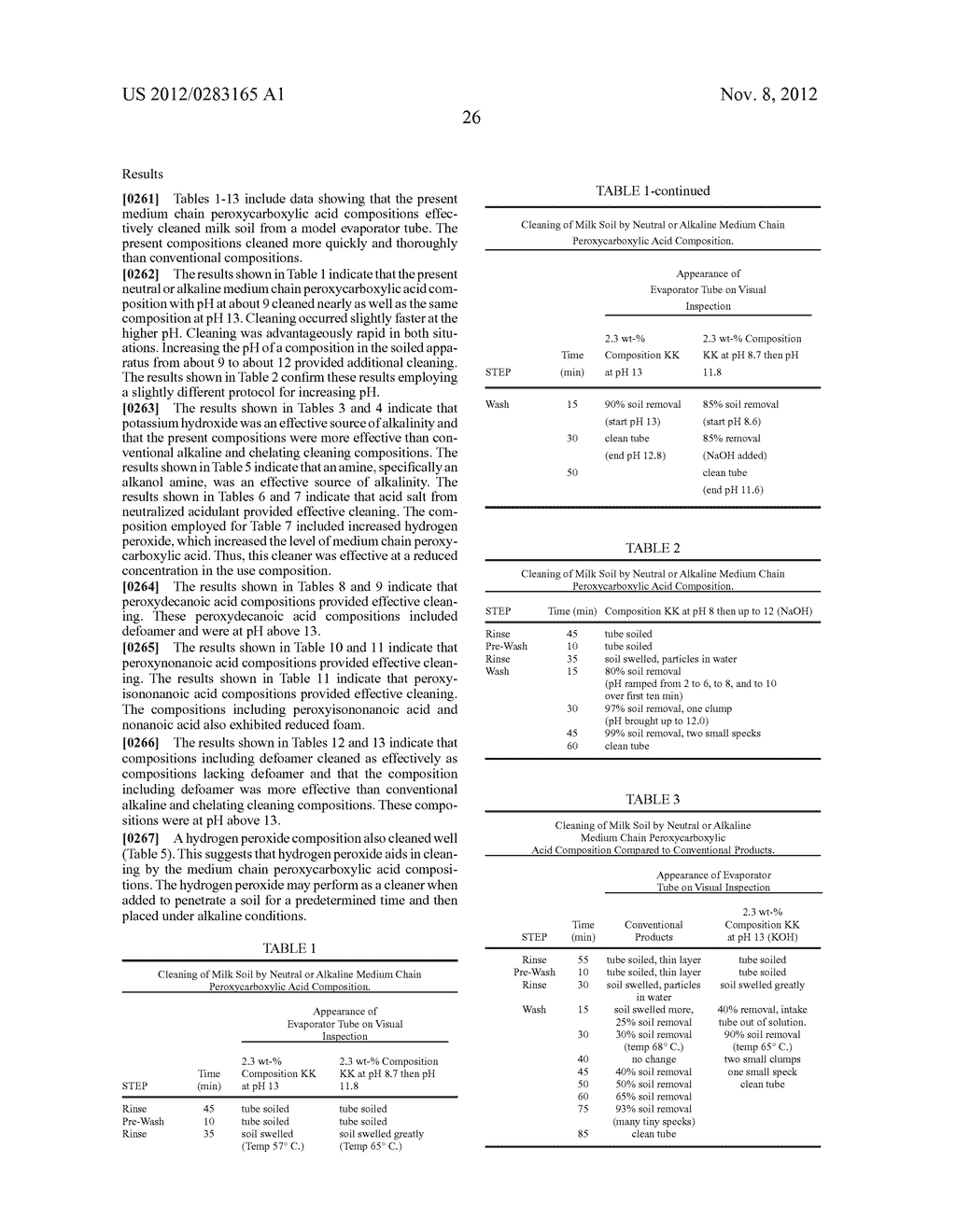 NEUTRAL OR ALKALINE MEDIUM CHAIN PEROXYCARBOXYLIC ACID COMPOSITIONS AND     METHODS EMPLOYING THEM - diagram, schematic, and image 34