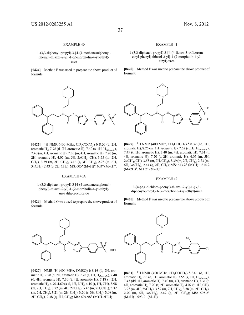 UREA DERIVATIVES, METHODS FOR THEIR MANUFACTURE, AND USES THEREFOR - diagram, schematic, and image 38