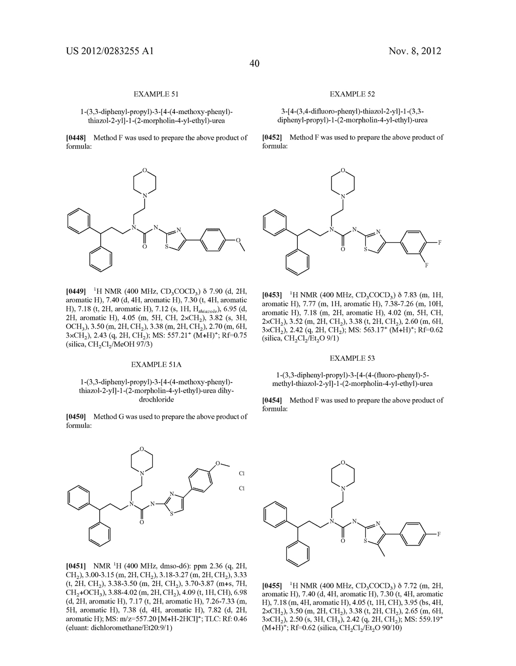 UREA DERIVATIVES, METHODS FOR THEIR MANUFACTURE, AND USES THEREFOR - diagram, schematic, and image 41