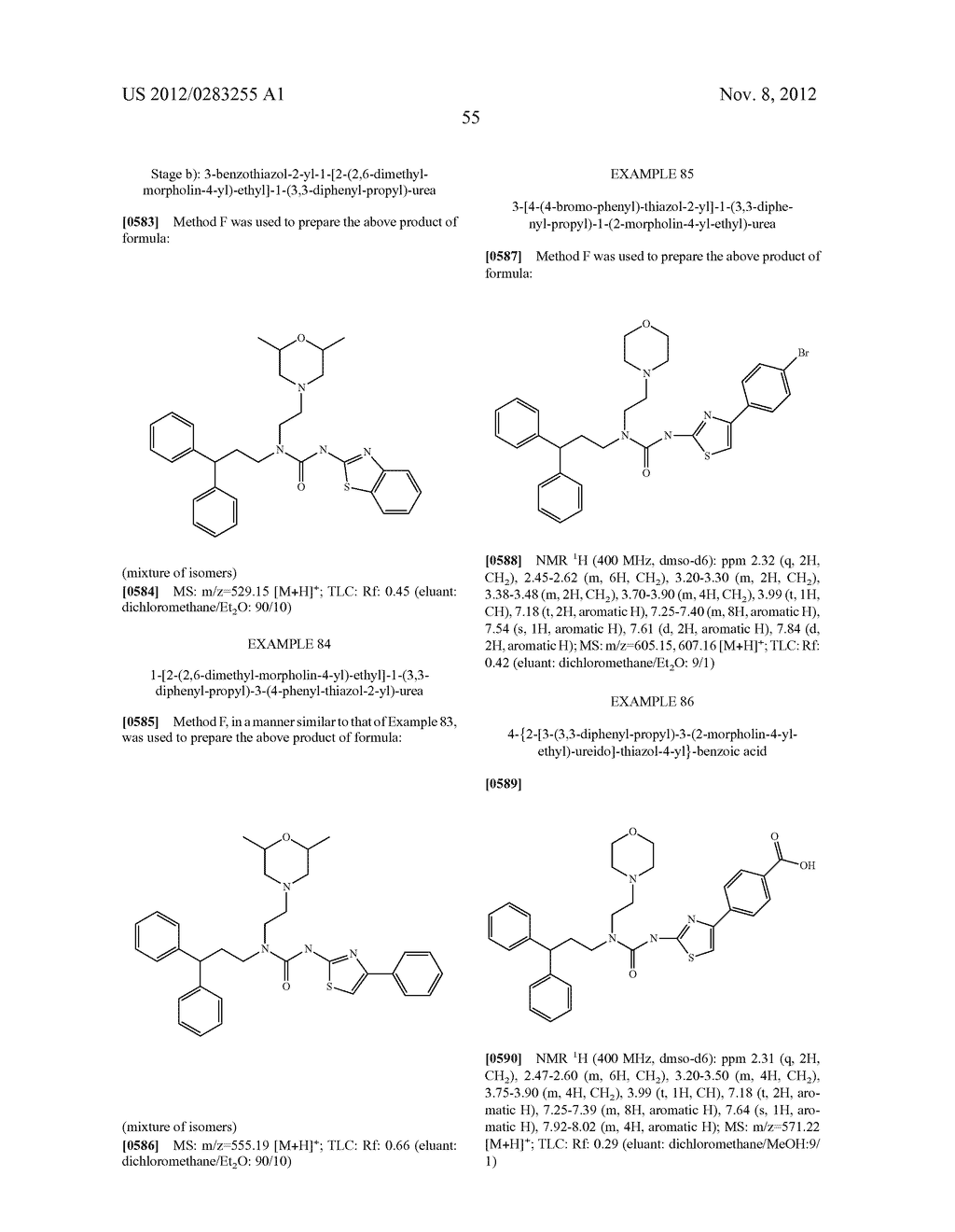 UREA DERIVATIVES, METHODS FOR THEIR MANUFACTURE, AND USES THEREFOR - diagram, schematic, and image 56