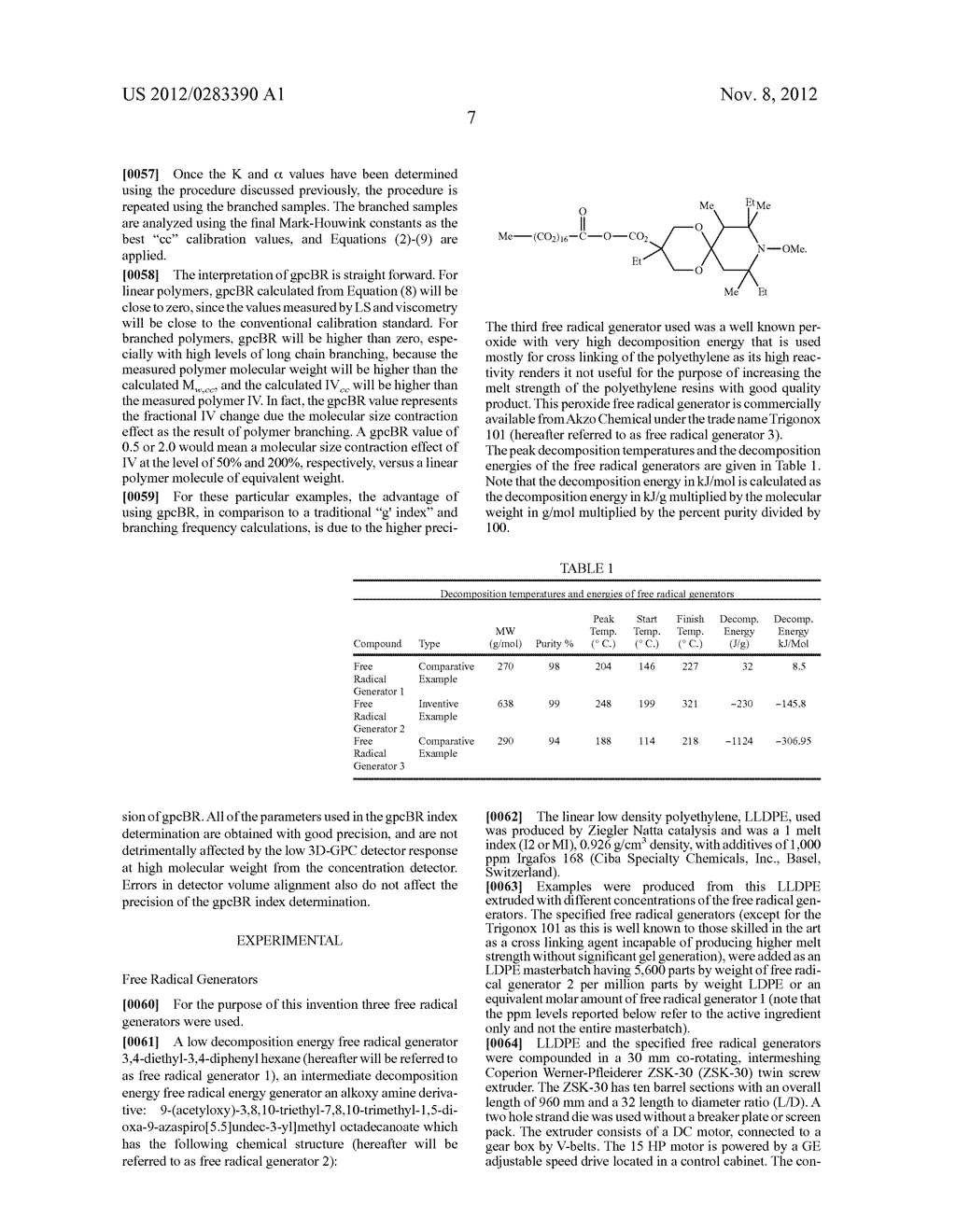 HIGH MELT STRENGTH POLYETHYLENE COMPOSITIONS AND METHODS FOR MAKING THE     SAME - diagram, schematic, and image 08