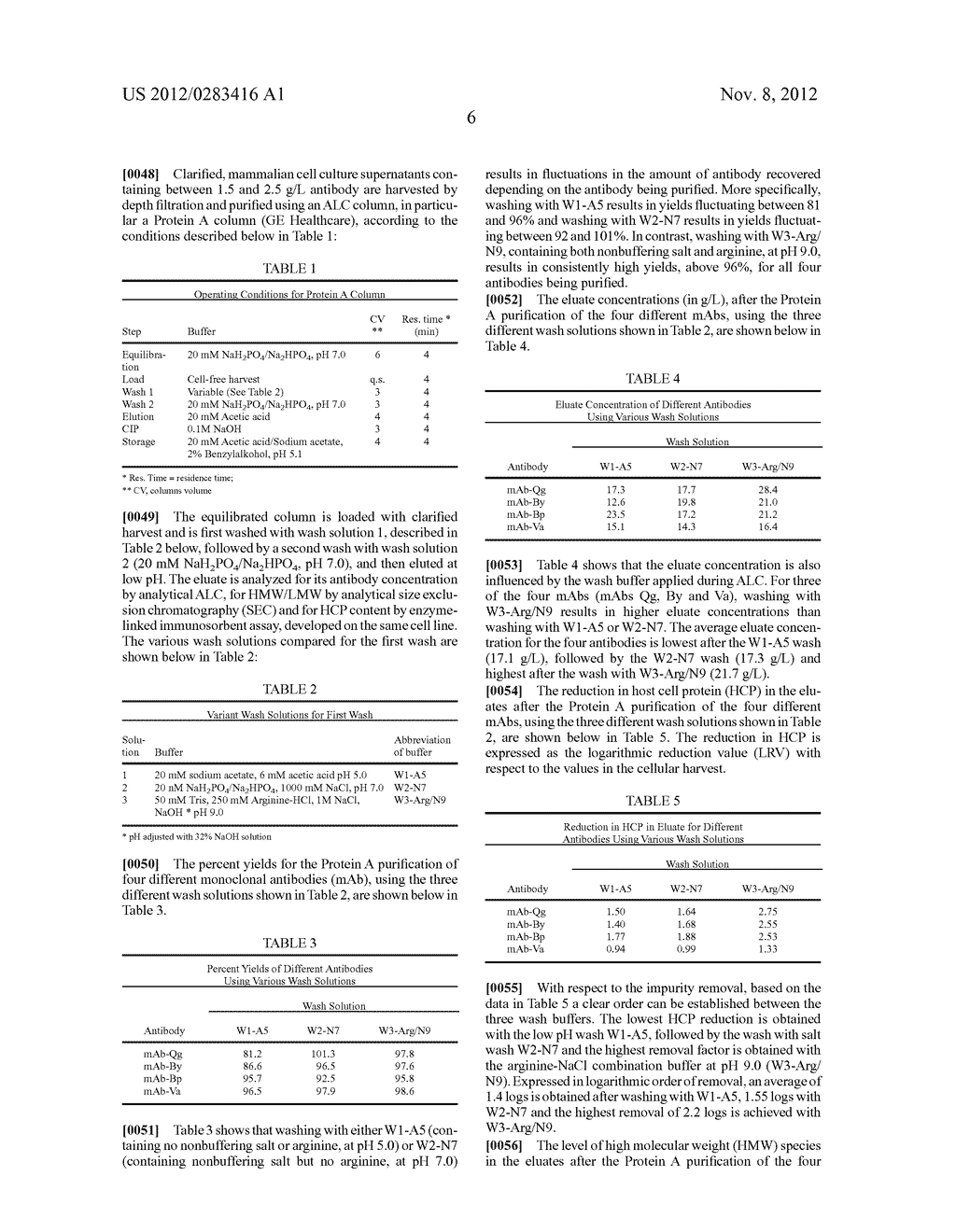 WASH SOLUTION AND METHOD FOR AFFINITY CHROMATOGRAPHY - diagram, schematic, and image 07