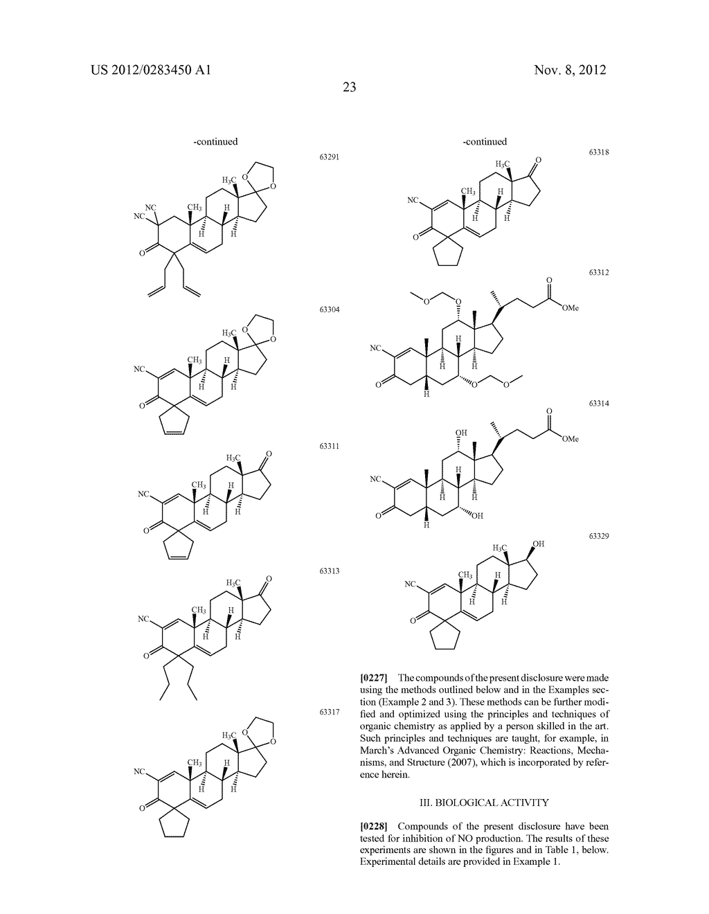 COMPOUNDS INCLUDING AN ANTI-INFLAMMATORY PHARMACORE AND METHODS OF USE - diagram, schematic, and image 48