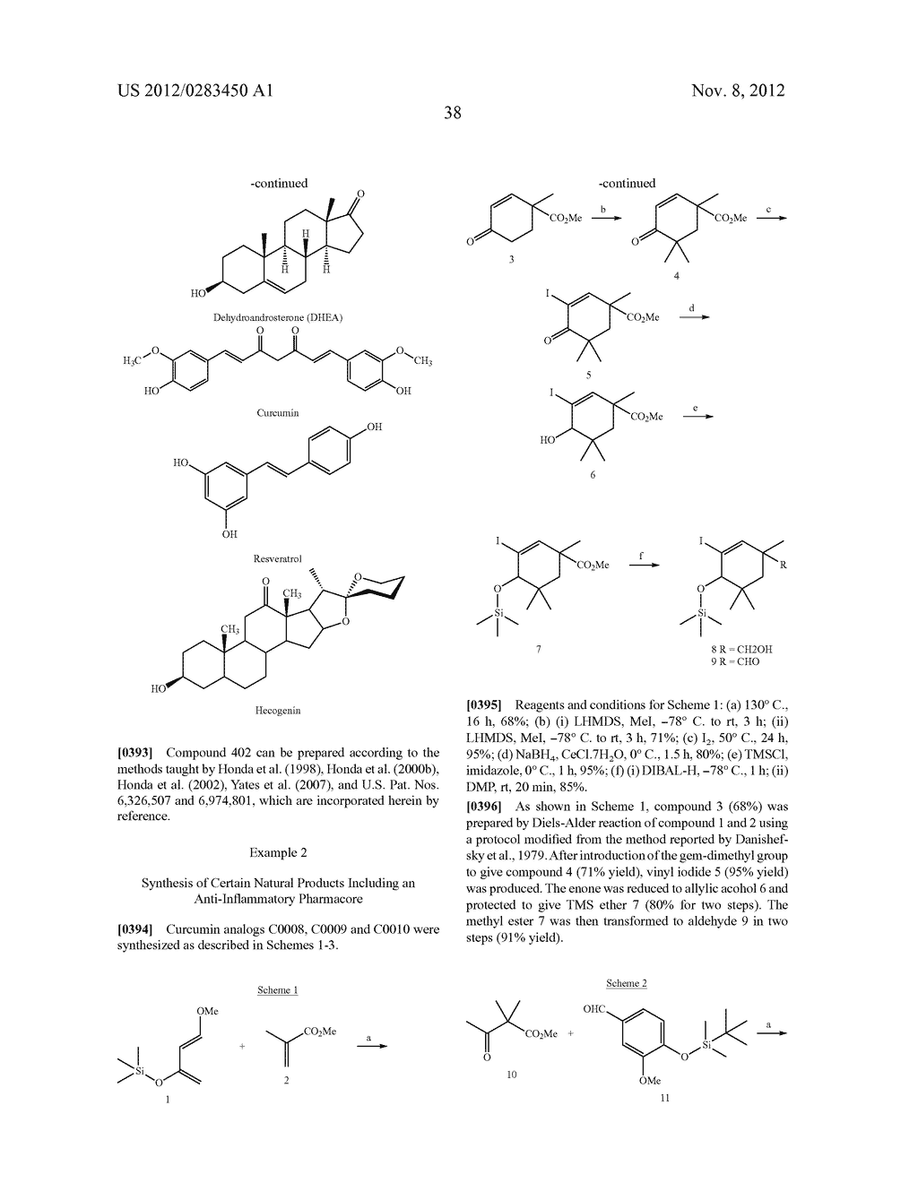 COMPOUNDS INCLUDING AN ANTI-INFLAMMATORY PHARMACORE AND METHODS OF USE - diagram, schematic, and image 63