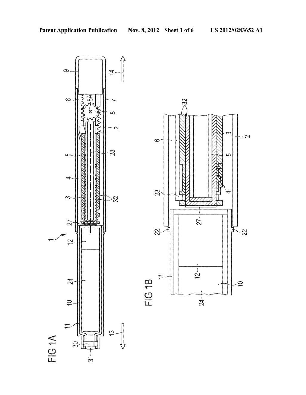 Assembly and Piston Rod for a Drug Delivery Device - diagram, schematic, and image 02