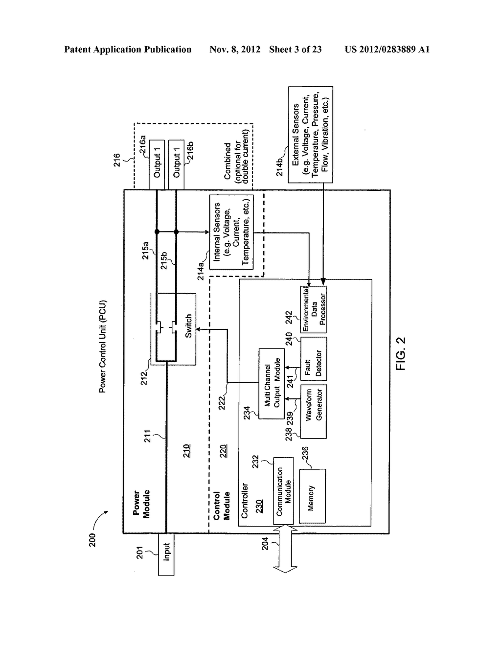 Method, a system, a computer-readable medium, and a power controlling     apparatus for applying and distributing power - diagram, schematic, and image 04