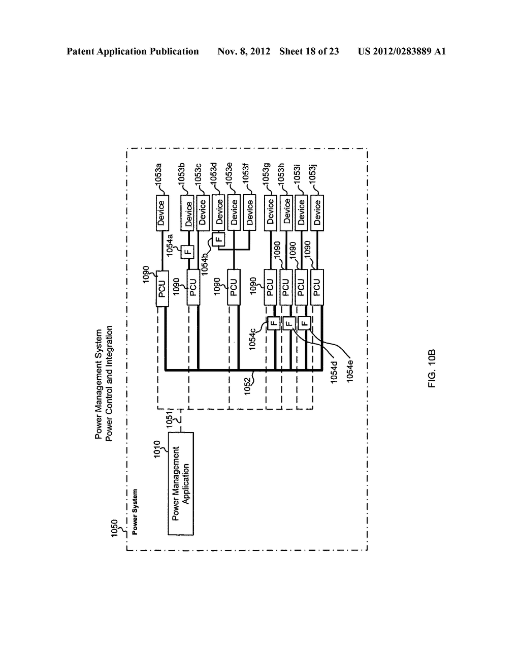 Method, a system, a computer-readable medium, and a power controlling     apparatus for applying and distributing power - diagram, schematic, and image 19