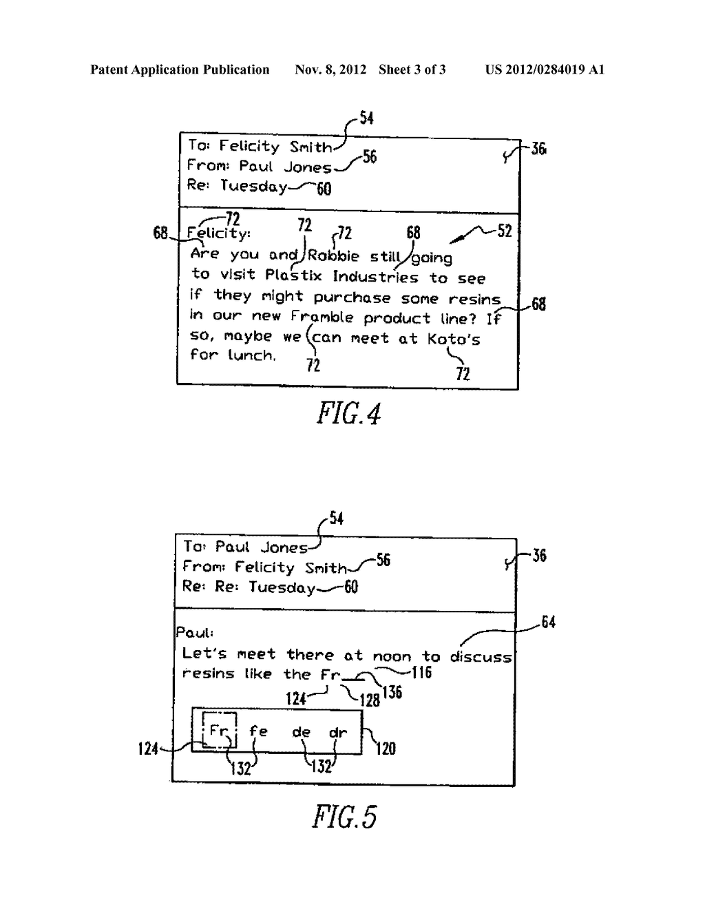 HANDHELD ELECTRONIC DEVICE WITH REDUCED KEYBOARD AND ASSOCIATED METHOD OF     PROVIDING IMPROVED DISAMBIGUATION WITH REDUCED DEGRADATION OF DEVICE     PERFORMANCE - diagram, schematic, and image 04
