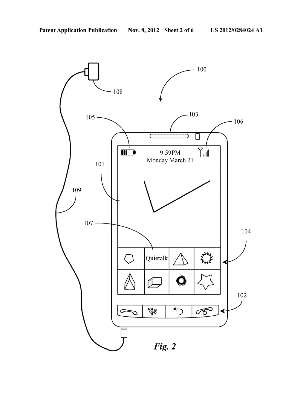 Text Interface Device and Method in Voice Communication - diagram, schematic, and image 03