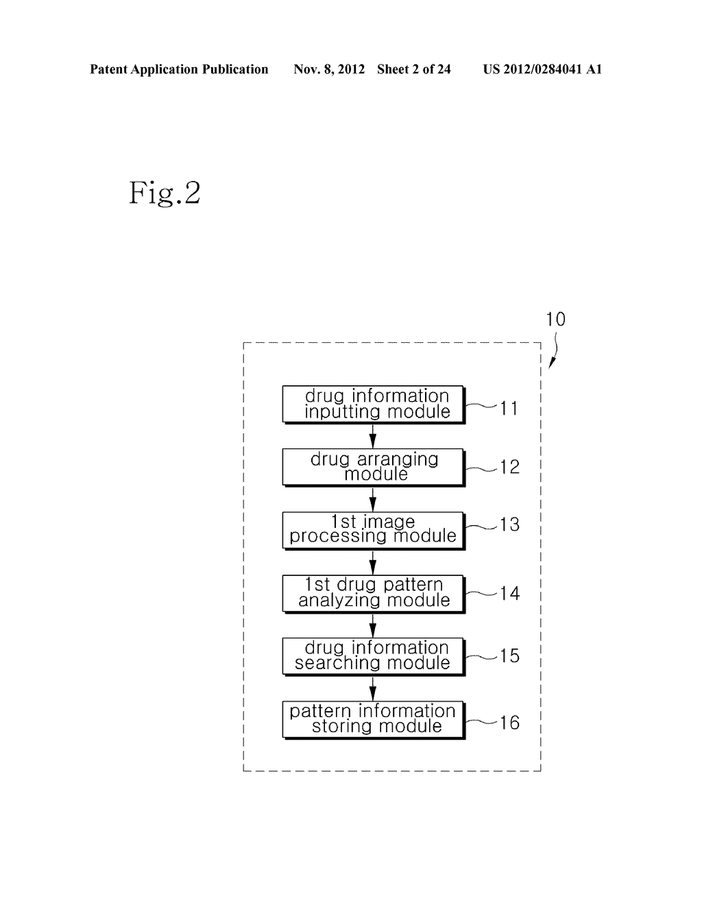 INTEGRATED DRUG MANAGEMENT SYSTEM AND METHOD OF PROVIDING PRESCRIPTION     DRUGS BY USING THE SAME - diagram, schematic, and image 03