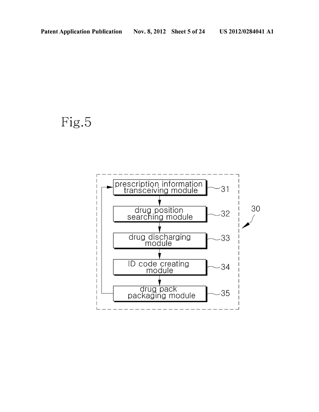 INTEGRATED DRUG MANAGEMENT SYSTEM AND METHOD OF PROVIDING PRESCRIPTION     DRUGS BY USING THE SAME - diagram, schematic, and image 06