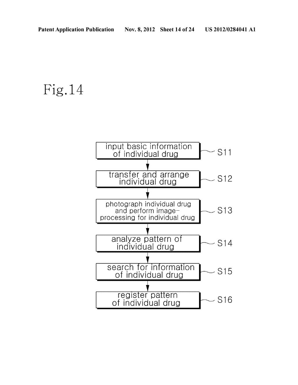 INTEGRATED DRUG MANAGEMENT SYSTEM AND METHOD OF PROVIDING PRESCRIPTION     DRUGS BY USING THE SAME - diagram, schematic, and image 15