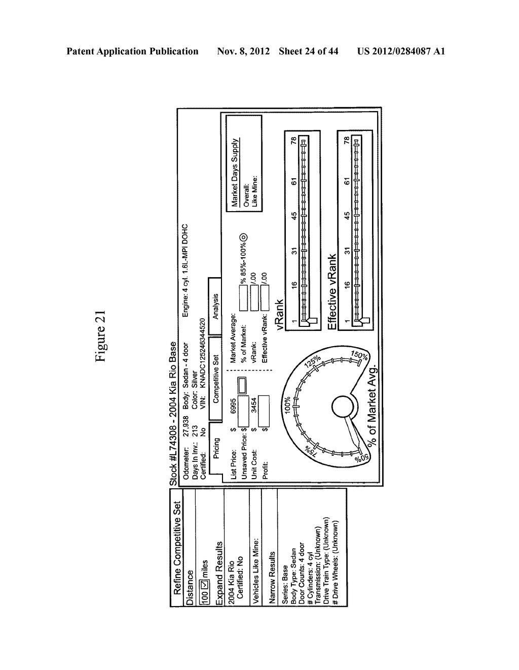 System and Method for Providing Competitive Pricing for Automobiles - diagram, schematic, and image 25