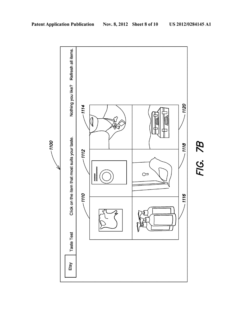 ITEM DISCOVERY TOOLS AND METHODS FOR SHOPPING IN AN ELECTRONIC COMMERCE     ENVIRONMENT - diagram, schematic, and image 09