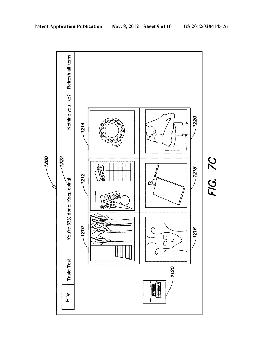 ITEM DISCOVERY TOOLS AND METHODS FOR SHOPPING IN AN ELECTRONIC COMMERCE     ENVIRONMENT - diagram, schematic, and image 10