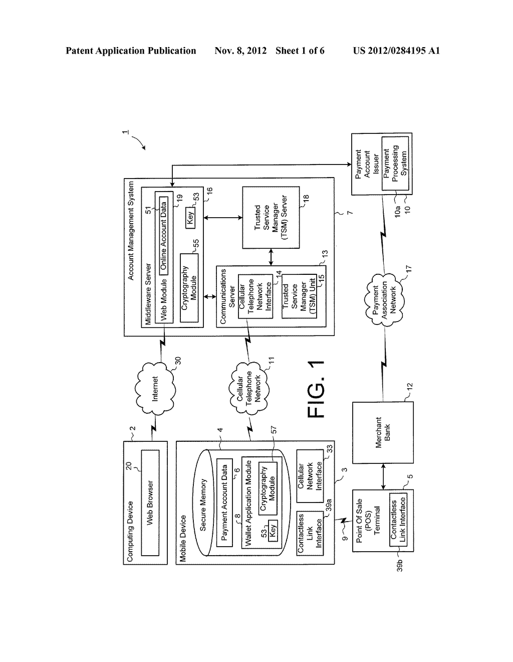 METHOD AND SYSTEM FOR SECURE USER REGISTRATION - diagram, schematic, and image 02