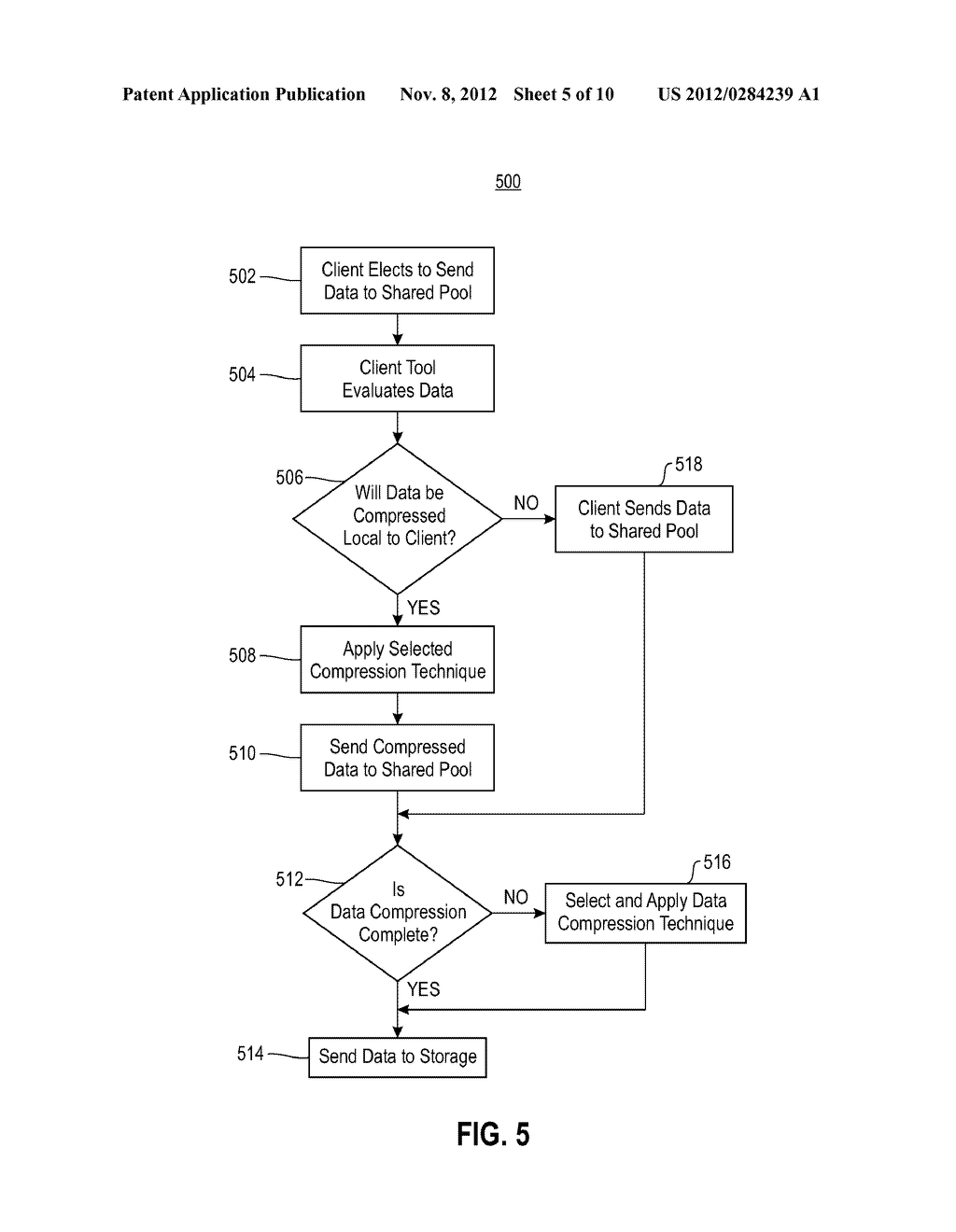 METHOD AND APPARATUS FOR OPTIMIZING DATA STORAGE - diagram, schematic, and image 06
