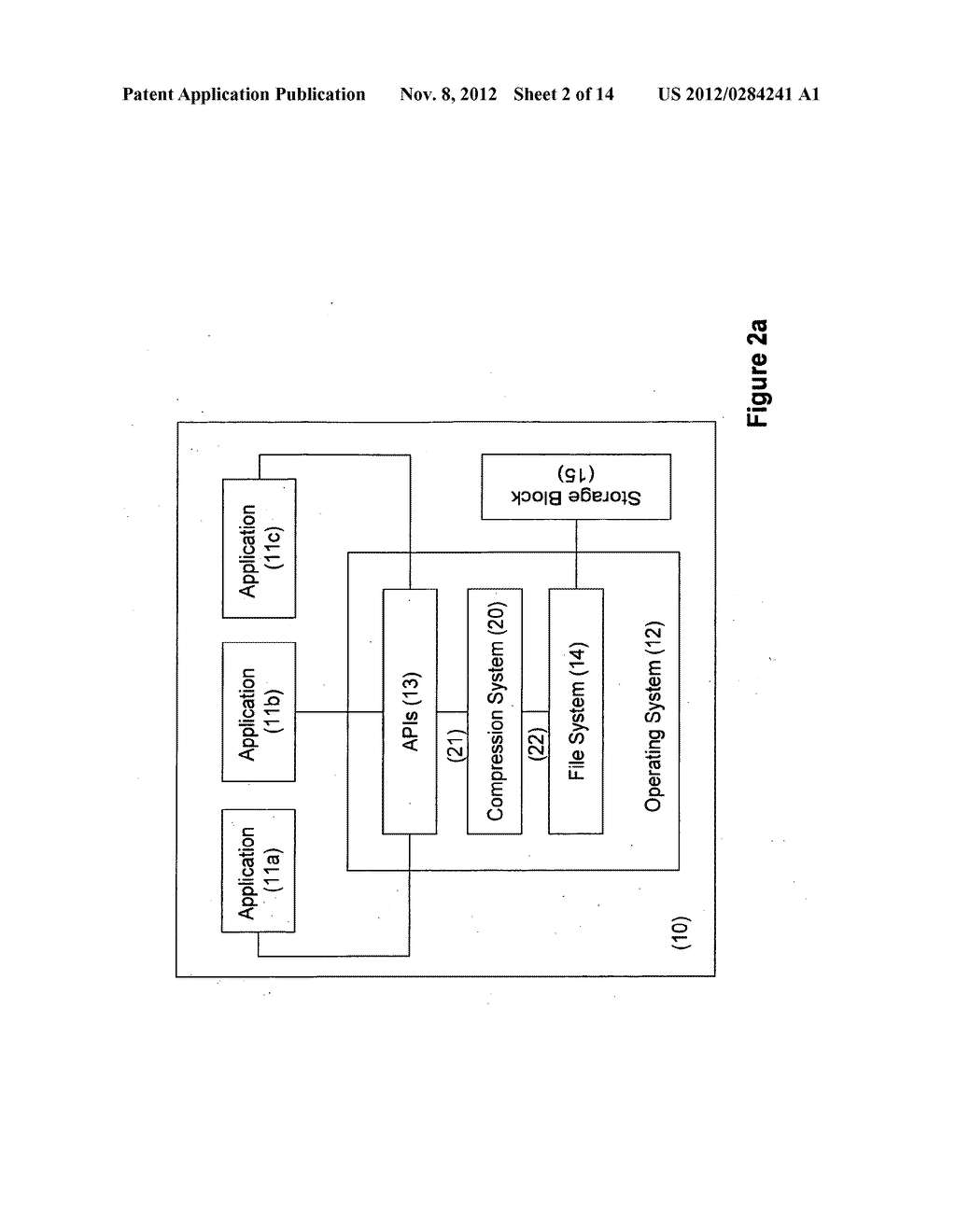 SYSTEMS AND METHODS FOR COMPRESSING FILES FOR STORAGE AND OPERATION ON     COMPRESSED FILES - diagram, schematic, and image 03