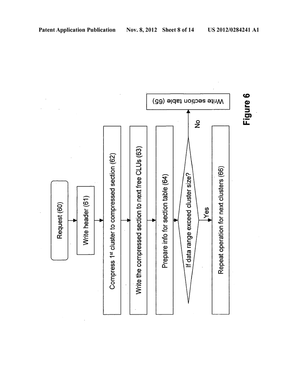 SYSTEMS AND METHODS FOR COMPRESSING FILES FOR STORAGE AND OPERATION ON     COMPRESSED FILES - diagram, schematic, and image 09