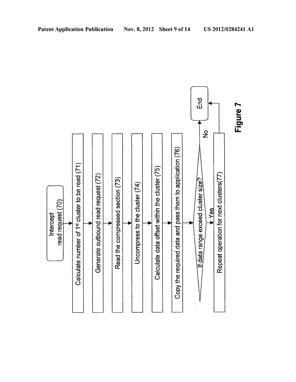SYSTEMS AND METHODS FOR COMPRESSING FILES FOR STORAGE AND OPERATION ON     COMPRESSED FILES - diagram, schematic, and image 10
