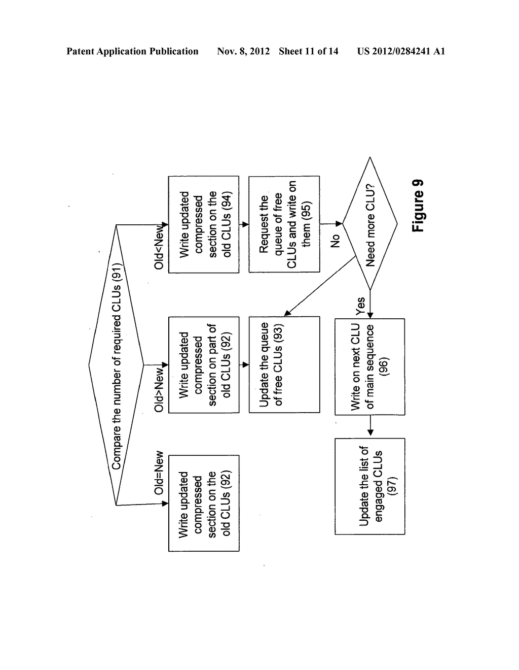 SYSTEMS AND METHODS FOR COMPRESSING FILES FOR STORAGE AND OPERATION ON     COMPRESSED FILES - diagram, schematic, and image 12