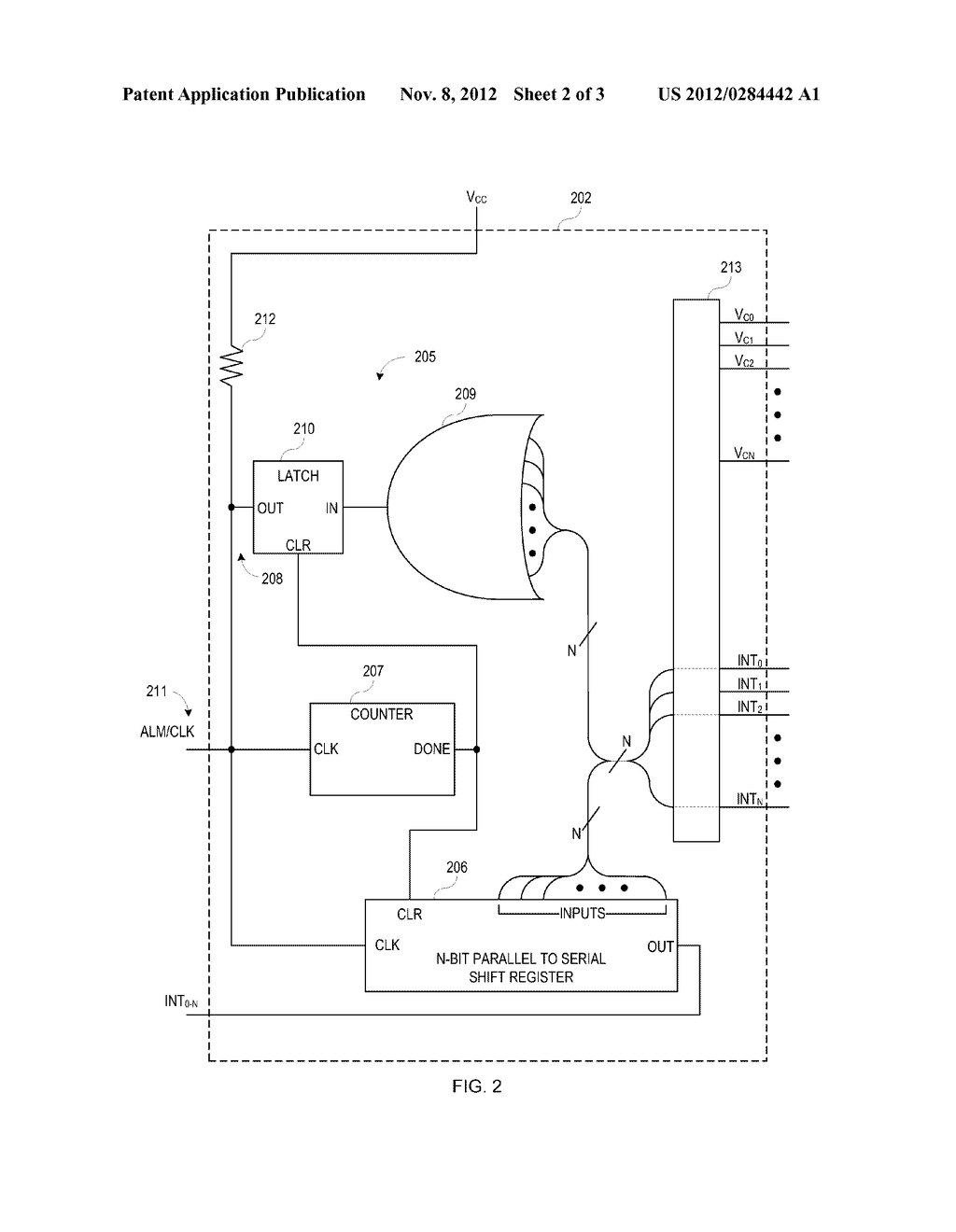 LOW LATENCY INTERRUPT COLLECTOR - diagram, schematic, and image 03
