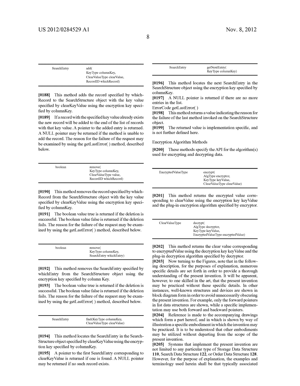 SYSTEM AND METHOD FOR MANAGEMENT OF ENCRYPTED DATA - diagram, schematic, and image 15