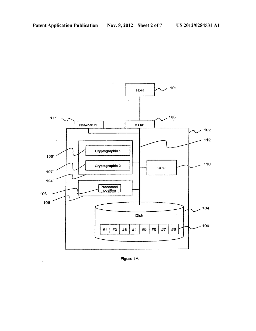 METHOD AND APPARATUS FOR CRYPTOGRAPHIC CONVERSION IN A DATA STORAGE SYSTEM - diagram, schematic, and image 03