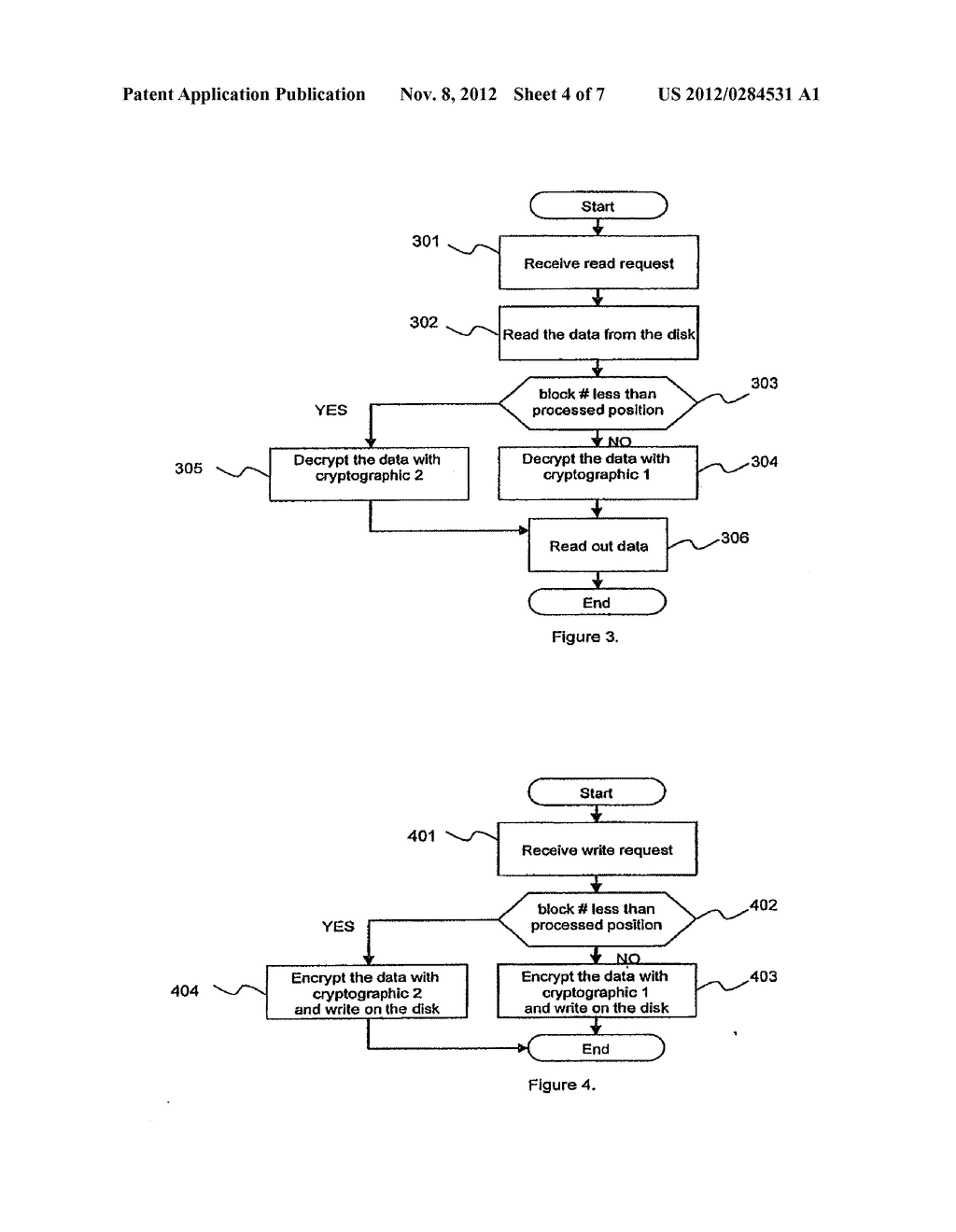 METHOD AND APPARATUS FOR CRYPTOGRAPHIC CONVERSION IN A DATA STORAGE SYSTEM - diagram, schematic, and image 05