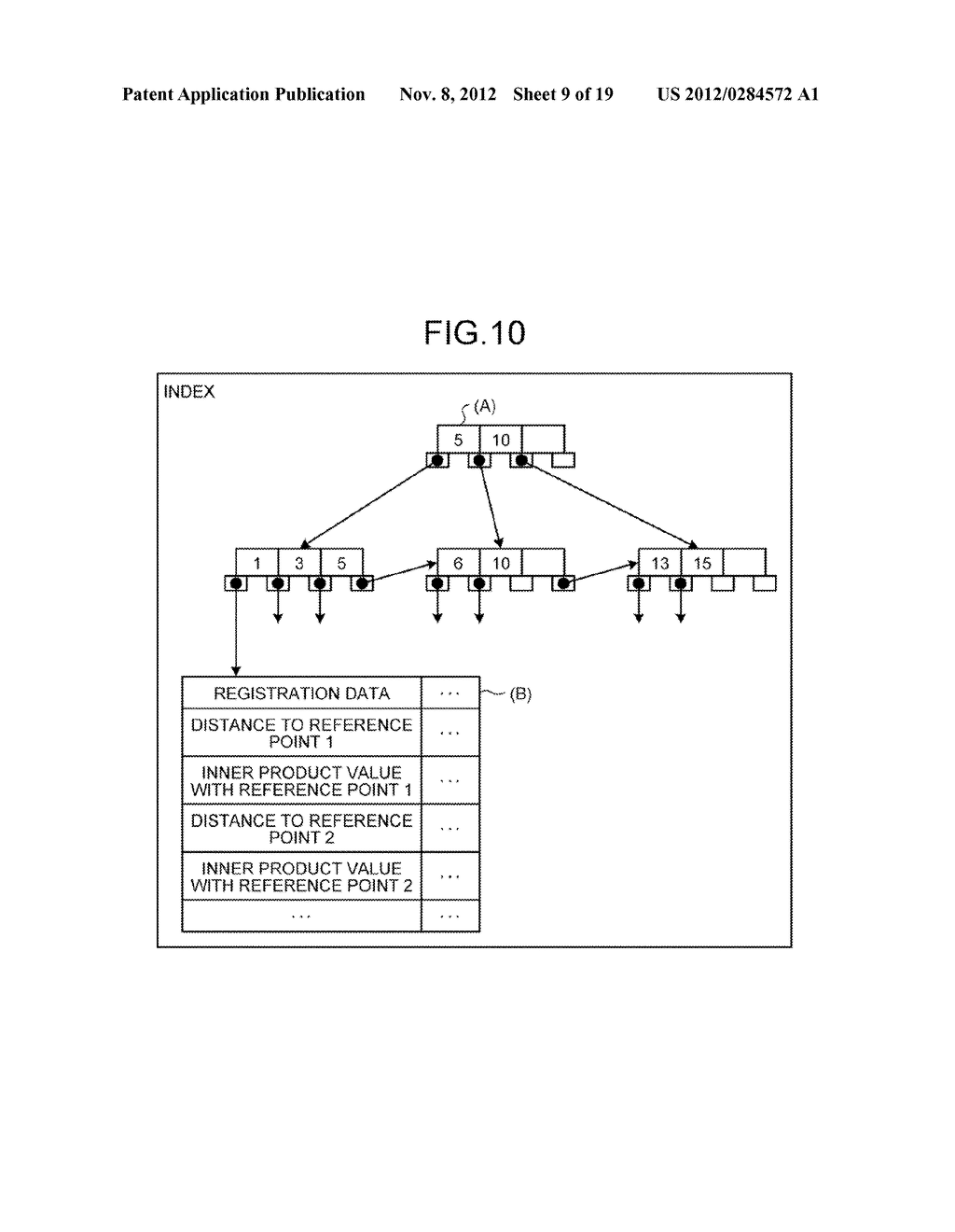 INFORMATION PROCESSING DEVICE, INFORMATION PROCESSING SYSTEM AND SEARCH     METHOD - diagram, schematic, and image 10