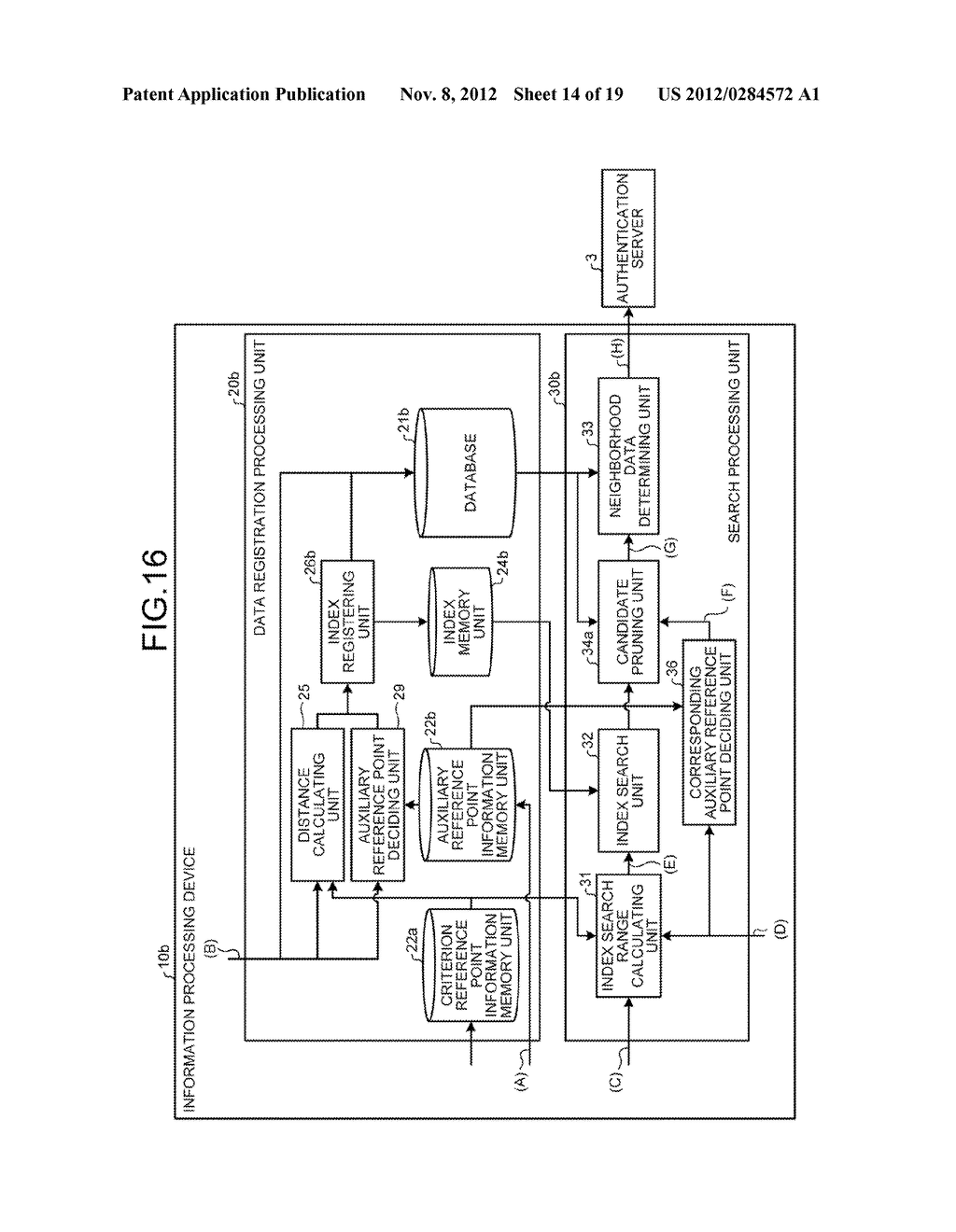 INFORMATION PROCESSING DEVICE, INFORMATION PROCESSING SYSTEM AND SEARCH     METHOD - diagram, schematic, and image 15