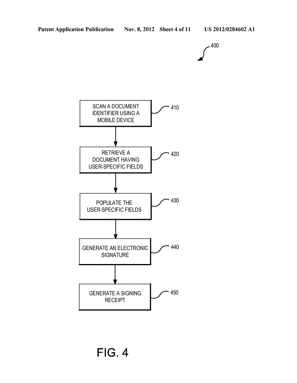 SYSTEMS AND METHODS FOR ELECTRONIC DOCUMENT IDENTIFICATION AND     CERTIFICATION - diagram, schematic, and image 05